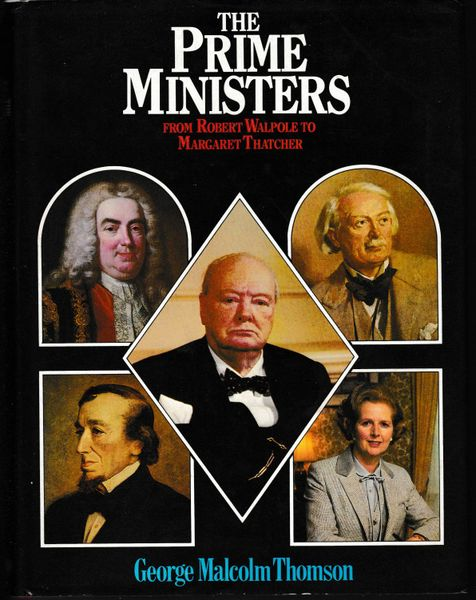 Thomson, George Malcolm THE PRIME MINISTERS 1980 hb dj