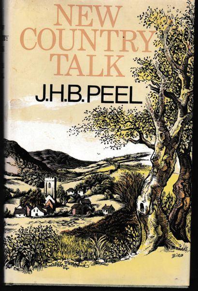New Country Talk J.H.B. Peel 1975 hb dj