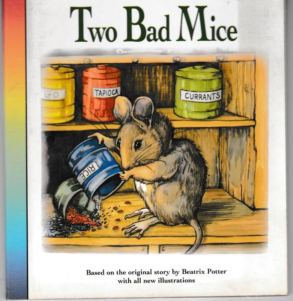 Beatrix Potter - The Tale of Two Bad Mice Little Rainbow Book retold by Sarah Toast 1995 hb