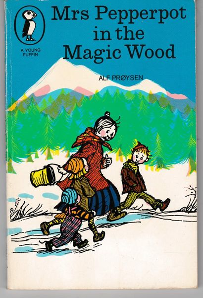 Alf Prøysen - Mrs Pepperpot in the Magic Wood 1979 Young Puffin pb