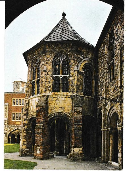 Postcard Kent Canterbury Cathedral The Water Tower Pitkin Pictorial CAN4