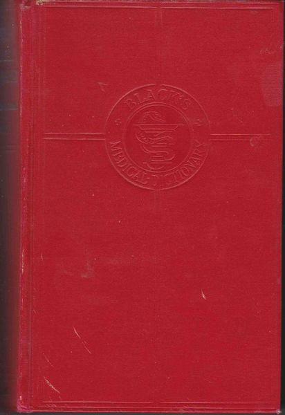 Thomson, William A R BLACK'S MEDICAL DICTIONARY 29th Edition 1971 hb