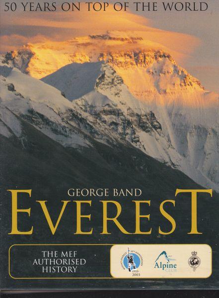George Band Everest The MEF Authorised History 2003 hb dj