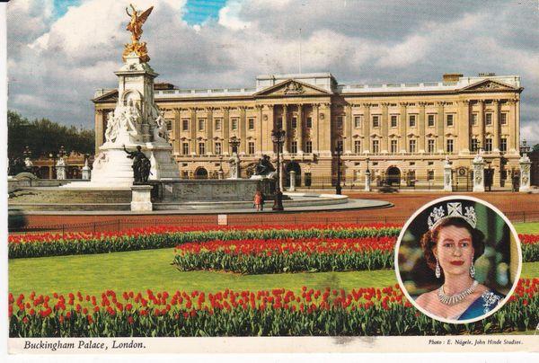 Post Card London BUCKINGHAM PALACE, LONDON John Hinde