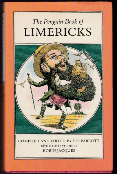 The Penguin Book of Limericks – E O Parrott 1983 hb dj