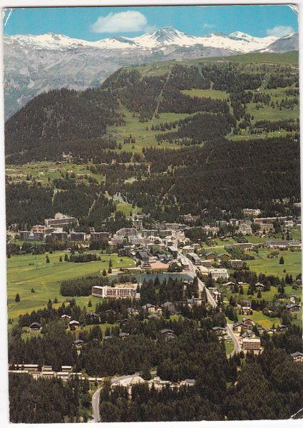 Post Card Switzerland Crans-Montana