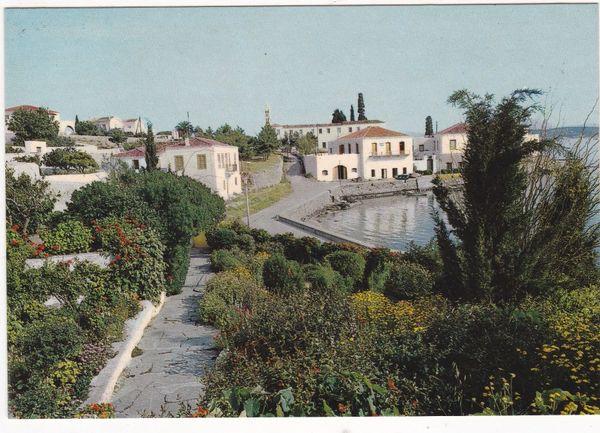 Postcard Greece Spetses / Spetsai – Picturesque view