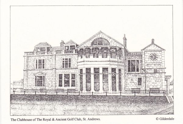 Clubhouse of The Royal & Ancient Golf Club, St. Andrews