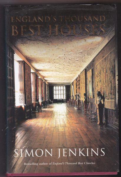 Simon Jenkins England's Thousand Best Houses 2003 hb dj