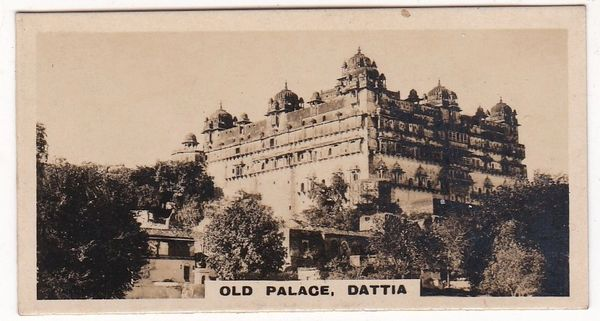 Cigarette Card Westminster : Indian Empire (Second Series) No. 03 Dattia Old Palace