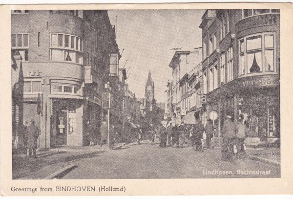 Postcard Netherlands Eindhoven Greetings from