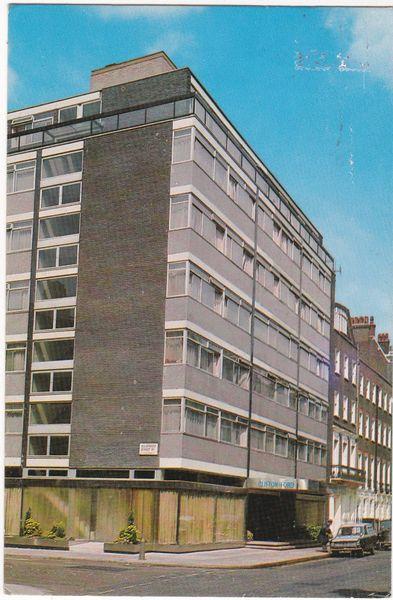 Postcard London Clifton Ford Hotel Welbeck Street