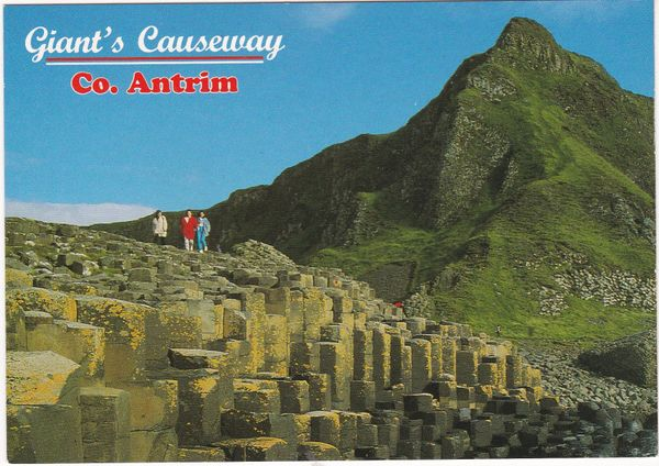 Postcard Northern Ireland Antrim Giant's Causeway