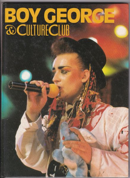 Boy George & Culture Club 1984 hb