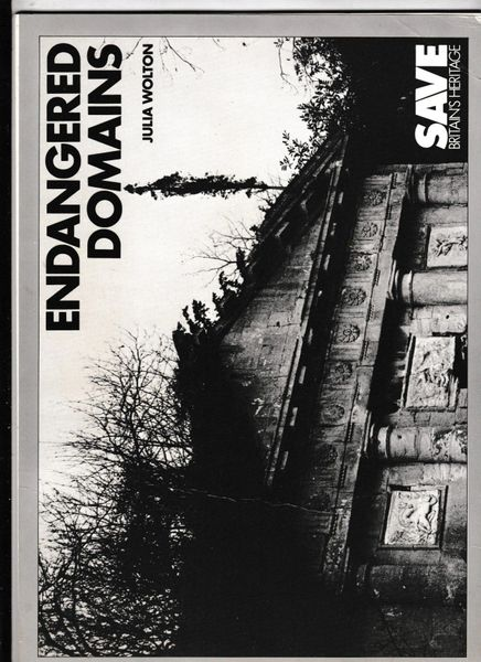 Endangered Domains by Julia Wolton (Paperback, 1985)
