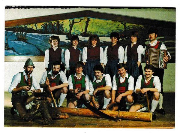 Postcard Germany Ancestral Music Group