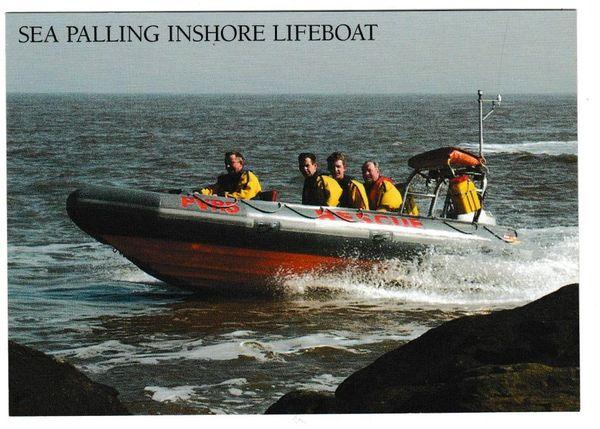Postcard Norfolk Sea Palling – Inshore Lifeboat