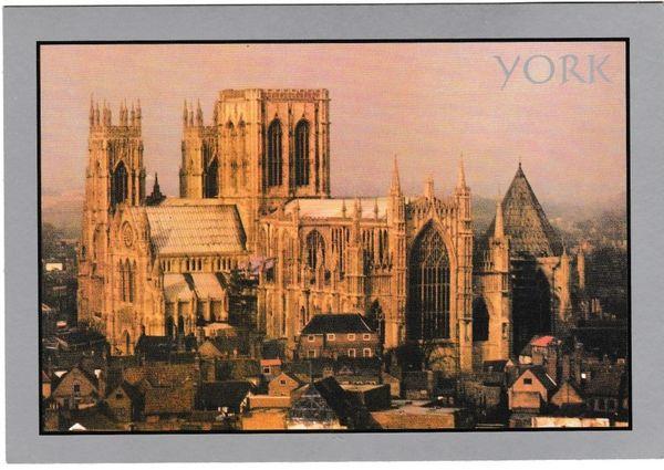 Postcard Yorkshire York The Minster