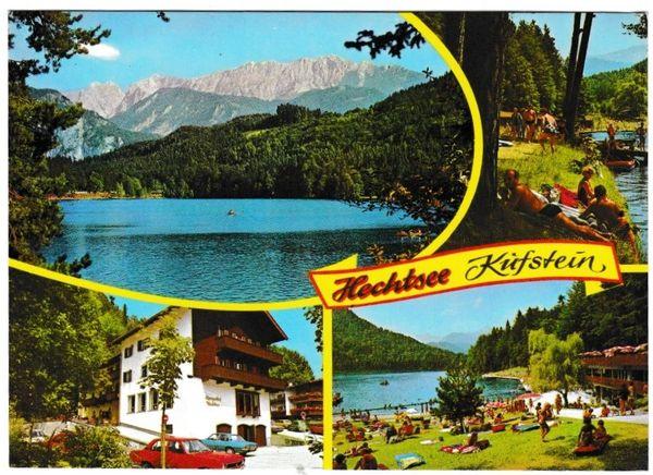 Postcard Austria Tirol Kufstein Hechtsee 4 views