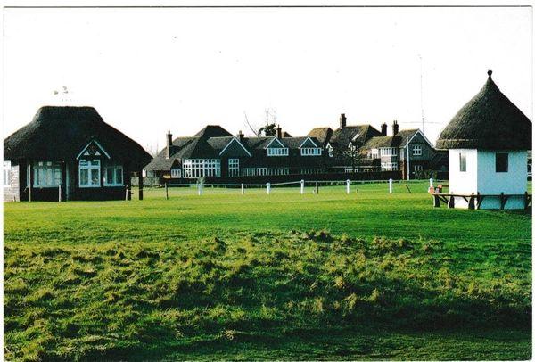 Postcard Kent SANDWICH The Royal St. George's Golf Club