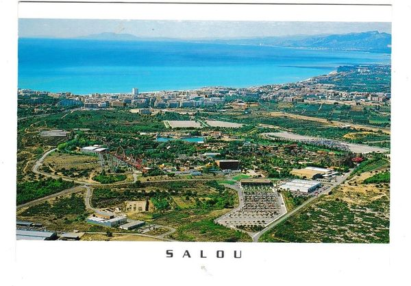 Postcard Spain Costa Daurada Salou