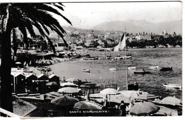Postcard Italy Santa Margherita