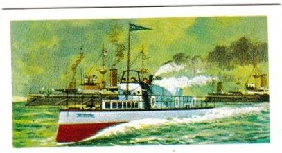 Trade Card Brooke Bond Transport Through the Ages No 25 Turbinia