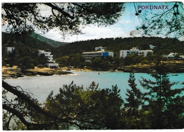 Post Card Spain Ibiza Portinatx