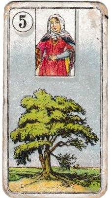 Cigarette Card Carreras Fortune Telling (1926) No. 05