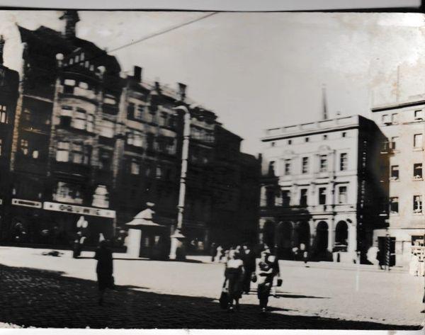 Postcard Poland Walbrzych Fragment Miasta