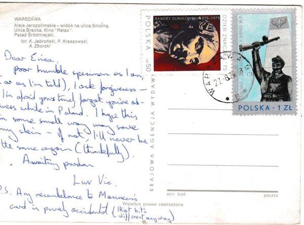 Post Card Poland WARSZAWA Warsaw 4 views