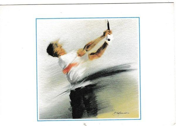 Postcard 205 Auarelle Serie 6