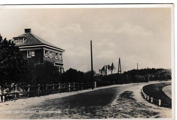 Post Card Netherlands Hoek van Holland Doornstraat