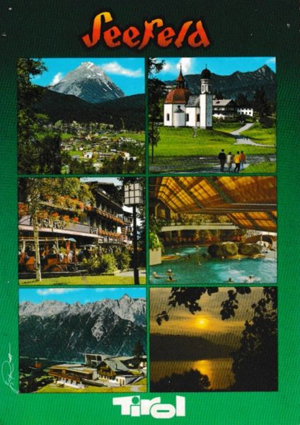 Post Card Austria Tirol Seefeld 6 views