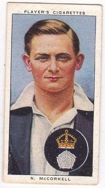 No. 17 - N. McCorkell
