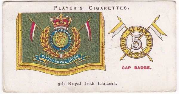 No. 18 5th Royal Irish Lancers