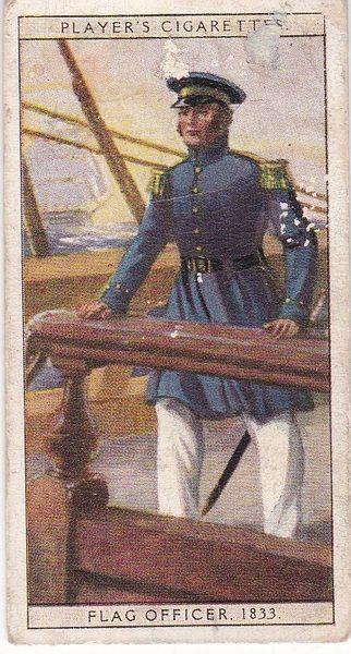 No. 40 Flag Officer 1833
