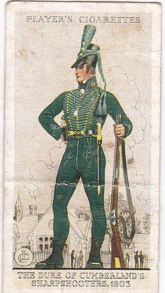 No. 06 The Duke of Cumberland's Sharpshooters. 1803