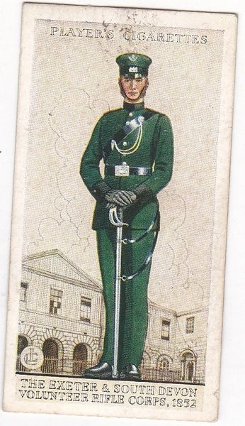 No. 07 The Exeter & South Devon Volunteer Rifle Corps, 1852