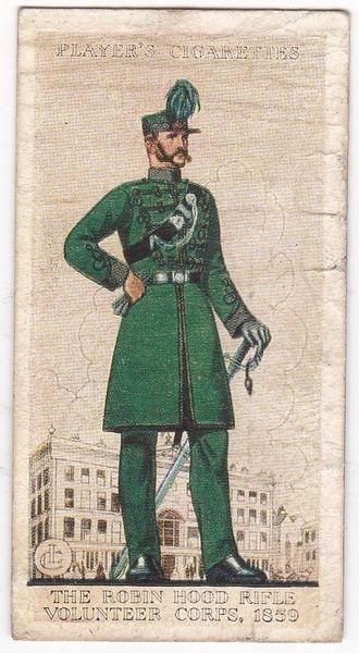 No. 11 The Robin Hood Rifle Volunteer Corps, 1859