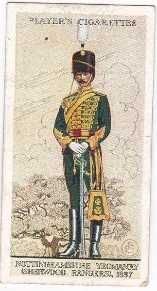 No. 14 Nottinghamshire Yeomanry (Sherwood Rangers) 1897