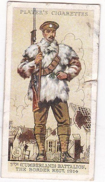 No. 29 5th (Cumberland) Battalion, The Border Regt. 1914