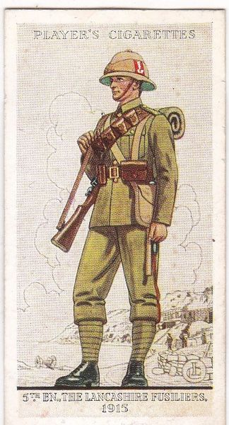 No. 32 5th Bn., The Lancashire Fusiliers, 1919