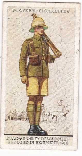 No. 34 2nd/23rd (County of London) Bn., The London Regiment, 1916