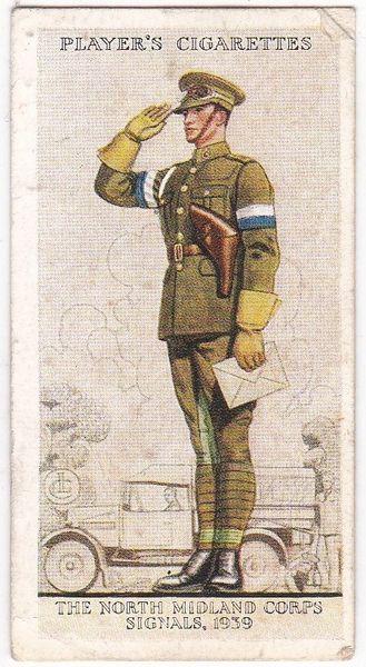 No. 43 The North Midland Corps, Signals, 1939
