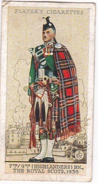 No. 44 7th/9th (Highlanders) Bn., The Royal Scots, 1939