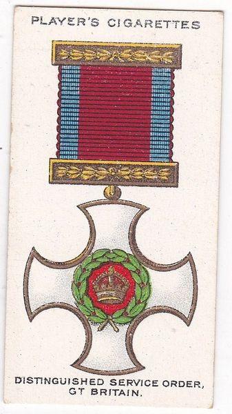 No. 06 : Distinguished Service Order