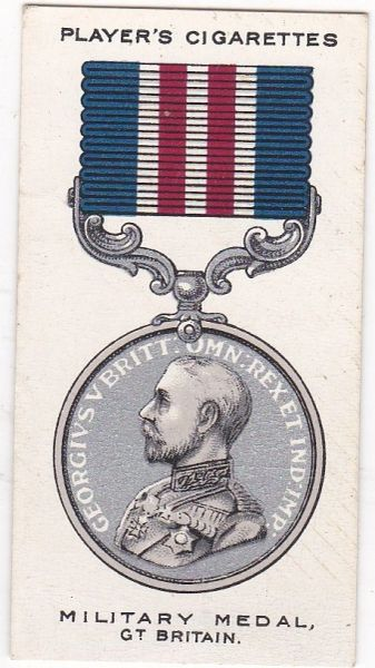 No. 17 : The Military Medal
