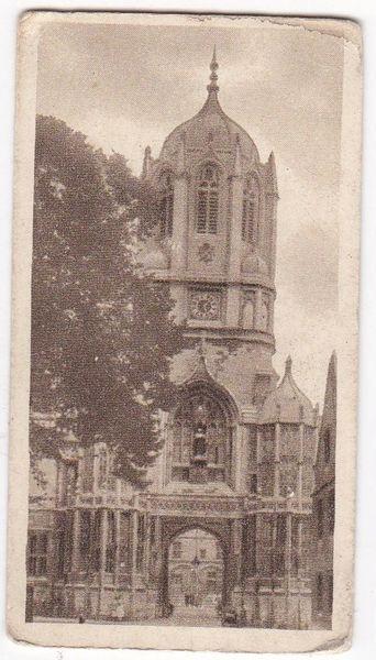 "No. 47 : ""Tom Tower"" Christchurch College"