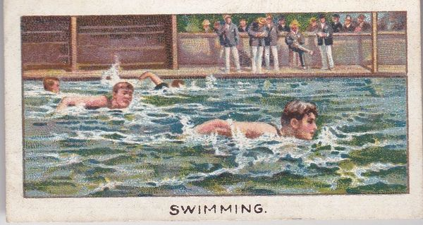 Turf No. 10 SWIMMING - The Fastest Swimmer